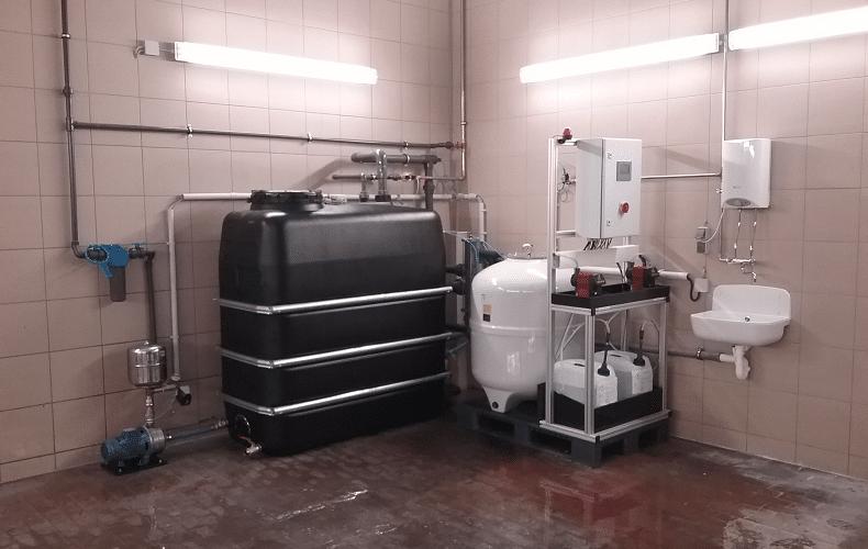 WtR_Beispiel_KF-01_neu installierte vollautomatische Kiesfilteranlage