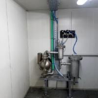 WtR Leimfilter im Reinigungskabinett eingebaut